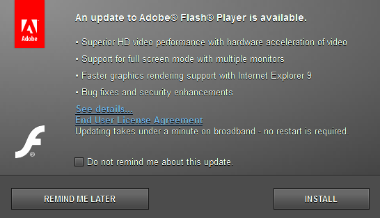 Adobe Flash Player Загрузить